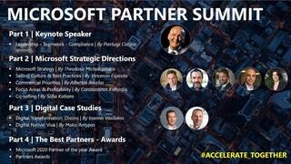Πραγματοποιήθηκε το 1ο ψηφιακό Microsoft Partner Summit