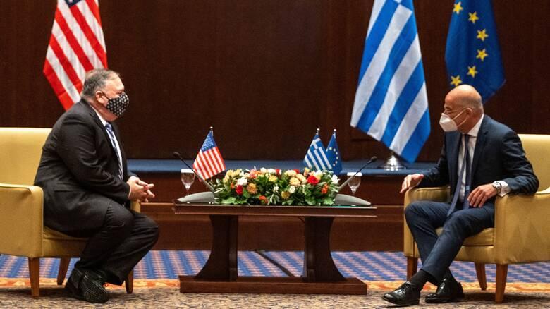 Κοινή δήλωση Ελλάδας - ΗΠΑ: Ζητήματα θαλασσίων ζωνών επιλύονται με βάση το Διεθνές Δίκαιο