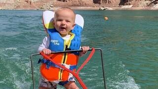 ΗΠΑ: Θύελλα αντιδράσεων για το βρέφος έξι μηνών που έκανε σκι σε λίμνη