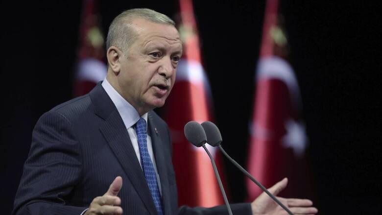 Ερντογάν: Μεγαλοϊδεατισμοί κατά της Ελλάδας