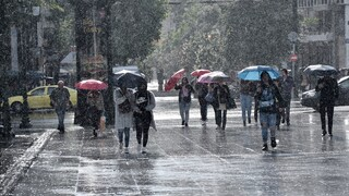 Επιδείνωση καιρού: Πού θα χτυπήσει η κακοκαιρία το βράδυ της Δευτέρας