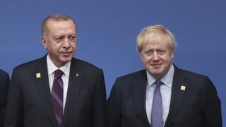 Συνομιλία Τζόνσον - Ερντογάν: Ικανοποίηση του Λονδίνου για τις διερευνητικές Ελλάδας - Τουρκίας