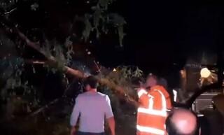 Κακοκαιρία «χτύπησε» τη Μυτιλήνη: Zημιές σε σπίτια και αυτοκίνητα