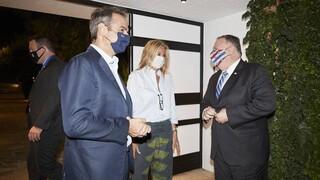 Επίσκεψη Πομπέο: Στη βάση της Σούδας με Μητσοτάκη και συνάντηση αντιπροσωπειών Ελλάδας - ΗΠΑ