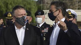 Μητσοτάκης - Πομπέο: Πιο στενές από ποτέ οι σχέσεις Ελλάδας και ΗΠΑ