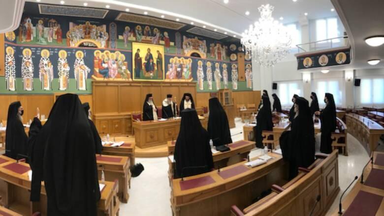 Την αναβολή σύγκλησης της Ιεραρχίας αποφάσισε η Διαρκής Ιερά Σύνοδος