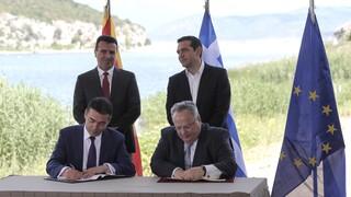 Συμφωνία των Πρεσπών: Συνέχεια αντιπαράθεσης και αιχμών για το «ιστορική»