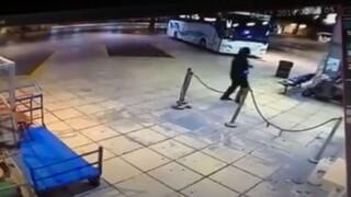 Βίντεο-ντοκουμέντο από τη συμμορία που έκλεψε χρηματοκιβώτιο από τα ΚΤΕΛ Αττικής
