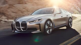 Η ηλεκτρική BMW i4 θα έχει και σπορ έκδοση M Performance με τουλάχιστον 517 ίππους