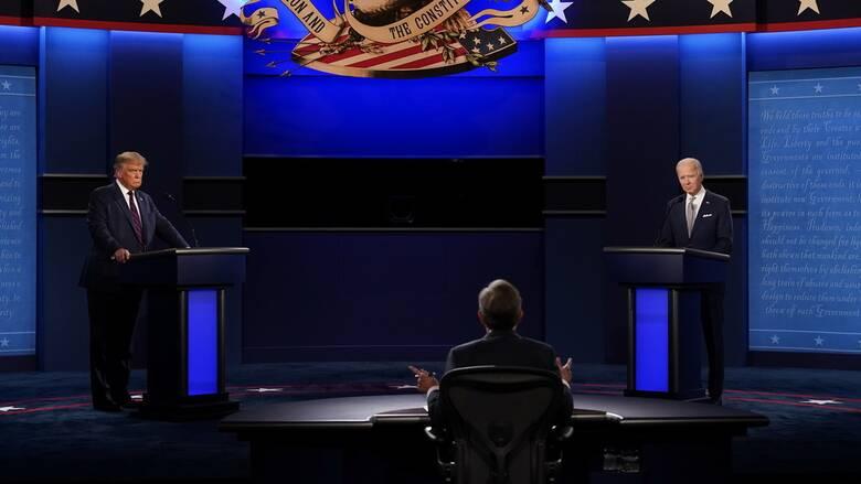 Εκλογές ΗΠΑ: Δείτε ζωντανά το πρώτο debate ανάμεσα σε Τραμπ και Μπάιντεν