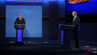 Εκλογές ΗΠΑ: Υψηλοί τόνοι και βαριές κουβέντες στο debate Τραμπ-Μπάιντεν