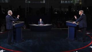 Εκλογές ΗΠΑ: Το χαοτικό ντιμπέιτ «ενόχλησε» τους Αμερικανούς - Ποιον θεωρούν νικητή