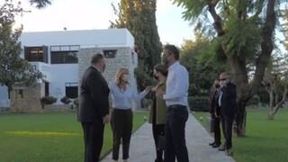 Επίσκεψη Πομπέο: Αναχώρησε από το σπίτι του Μητσοτάκη ο Αμερικανός ΥΠΕΞ