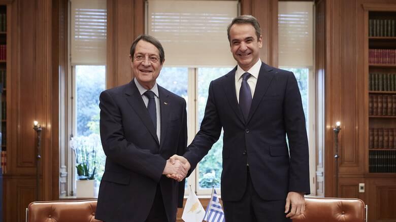 Μήνυμα Μητσοτάκη σε Αναστασιάδη: Δεν θα αποδεχθούμε τη νομιμοποίηση τετελεσμένων στην Κύπρο