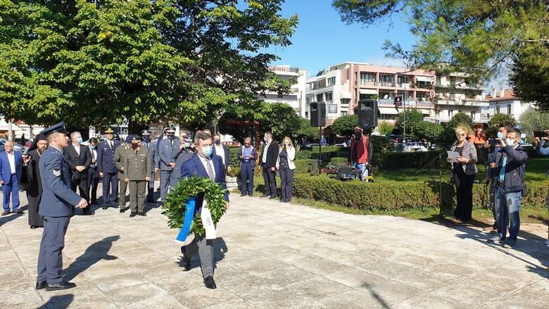 Ιωάννινα: Την κυβέρνηση εκπροσώπησε ο Ελ. Οικονόμου στον εορτασμό της Ημέρα Μνήμης Εθνικών Ευεργετών