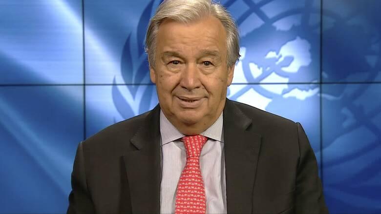 ΟΗΕ - Γκουτέρες: Η ισότητα των δύο φύλων παραμένει η μεγαλύτερη πρόκληση για τα ανθρώπινα δικαιώματα