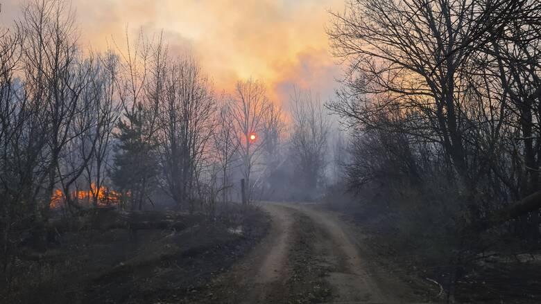 Ουκρανία: Οκτώ νεκροί από τις πυρκαγιές στην περιοχή του Λουχάνσκ