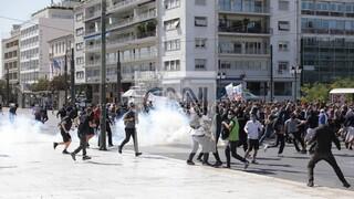Μαθητικό συλλαλητήριο: Δύο προσαγωγές για τα επεισόδια στο κέντρο της Αθήνας