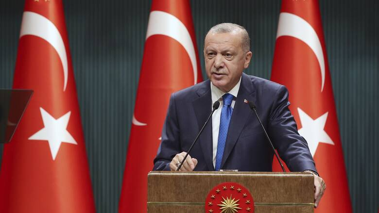 Ερντογάν: Κακομαθημένες ΕΕ, Ελλάδα και Κύπρος - Μας κρατούν αιχμάλωτους