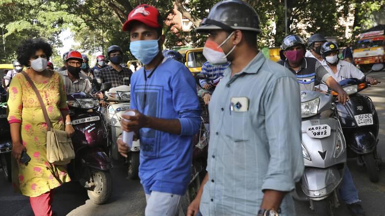 Κορωνοϊός – Ινδία: Το 8% των ασθενών ευθύνεται για το 60% των μολύνσεων