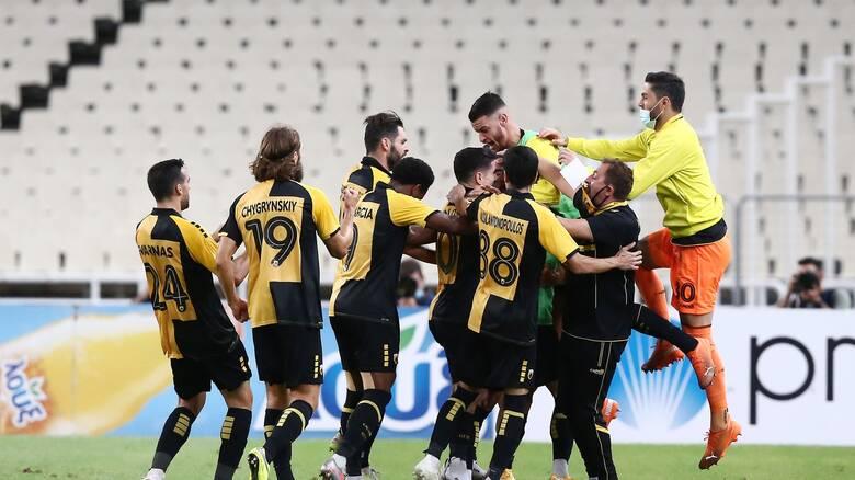 ΑΕΚ-Βόλφσμπουργκ 2-1: Λύτρωση με Ανσαριφάρντ και πρόκριση στους ομίλους του Europa League