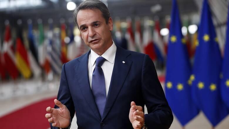 Μητσοτάκης: Απόλυτα ικανοποιημένη η Ελλάδα από τα συμπεράσματα της Συνόδου Κορυφής