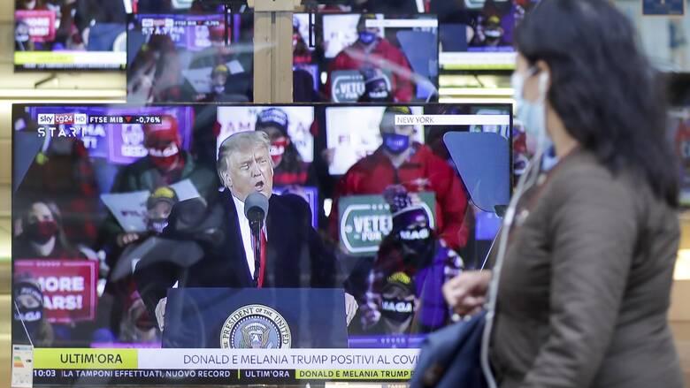 Η ασθένεια Τραμπ και άλλες «εκπλήξεις του Οκτωβρίου» που έβαλαν «φωτιά» στις αμερικανικές εκλογές