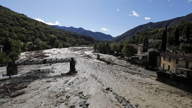 Γαλλία - Ιταλία: Ένας νεκρός και 19 αγνοούμενοι από τις πρωτοφανείς πλημμύρες