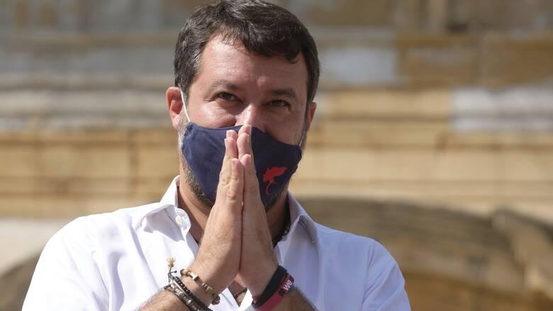 Ιταλία: Αναβλήθηκε η υπόθεση του Σαλβίνι