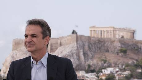 Ομιλία Μητσοτάκη για την επένδυση της Microsoft στην Ελλάδα στο Μουσείο της Ακρόπολης