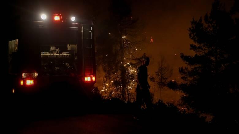 Νύχτα αγωνίας με τη φωτιά στη Ζάκυνθο - Καλύτερη η εικόνα στην Ηλεία