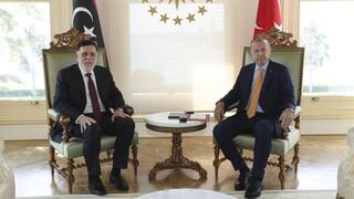 Συνάντηση Ερντογάν - Σάρατζ στην Κωνσταντινούπολη