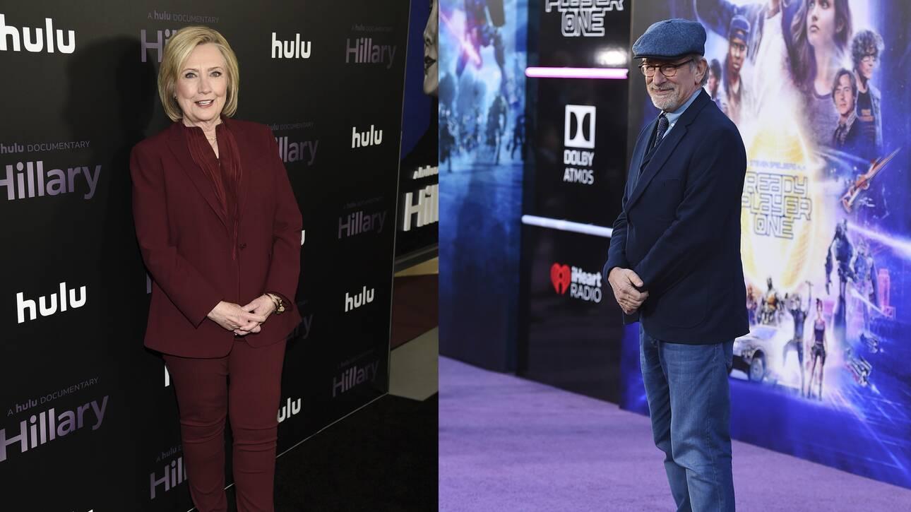 Χίλαρι Κλίντον και Στίβεν Σπίλμπεργκ συνεργάζονται στην παραγωγή δραματικής σειράς