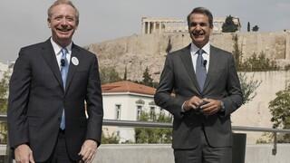 Μητσοτάκης: Επένδυση 1 δισ. ευρώ από την Microsoft στην Ελλάδα
