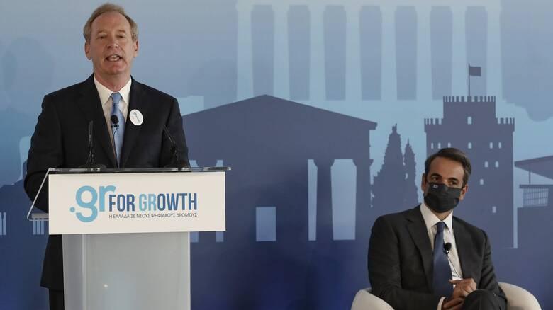Τι περιλαμβάνει η επένδυση του 1 δισ. ευρώ της Microsoft στην Ελλάδα