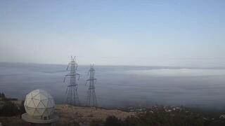 Καιρός: Πυκνή ομίχλη κάλυψε την Αθήνα - Δείτε το βίντεο