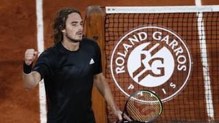 Τσιτσιπάς: Στους «8» του Roland Garros για πρώτη φορά στην καριέρα του