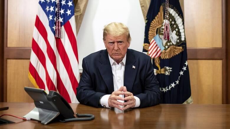 Κορωνοϊός: Εξιτήριο για τον Ντόναλντ Τραμπ - «Νιώθω πολύ καλά»