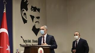 Στην Αθήνα ο Στόλτενμπεργκ για τον μηχανισμό απεμπλοκής με Τουρκία