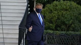 Κορωνοϊός: Επιστρέφει στον Λευκό Οίκο ο Τραμπ - Συνεχίζει τη θεραπεία
