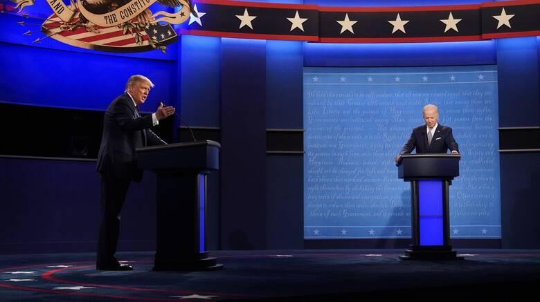 Εκλογές ΗΠΑ: Ο Τραμπ θέλει να συμμετάσχει στο δεύτερο ντιμπέιτ με τον Μπάιντεν