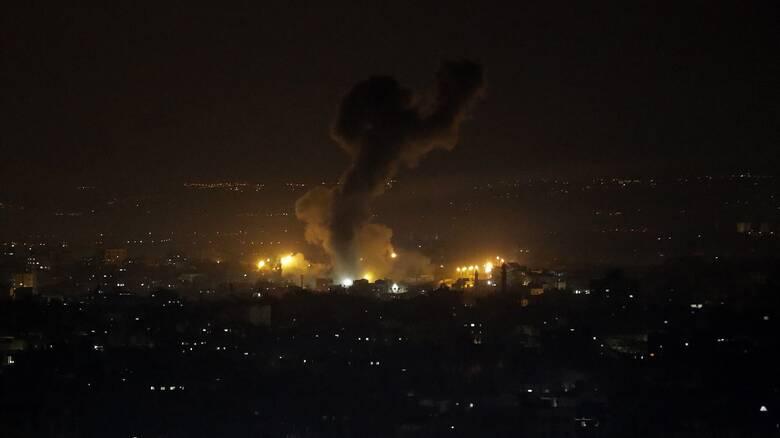 Ισραηλινά πλήγματα στη Γάζα μετά την εκτόξευση ρουκέτας