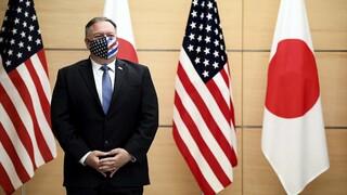 Πομπέο: Από το Τόκιο εξαπέλυσε σφοδρή επίθεση στην Κίνα