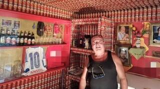 «Καταφύγιο μπύρας»: Βρίσκεται στη Κρήτη και αποτελείται από 9.270 κουτάκια μπύρας
