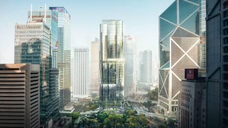 Χονγκ Κονγκ: Αυτός είναι ο εντυπωσιακός ουρανοξύστης που υψώνεται πάνω στο ακριβότερο οικόπεδο