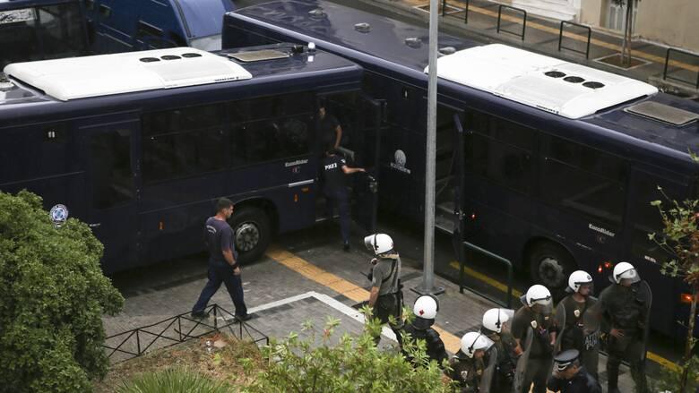 Δίκη Χρυσής Αυγής: Δρακόντεια μέτρα ασφαλείας - Πάνω από 2.000 αστυνομικοί στους δρόμους