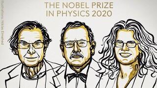 Στην έρευνα για τις μαύρες τρύπες του σύμπαντος το φετινό Νόμπελ Φυσικής