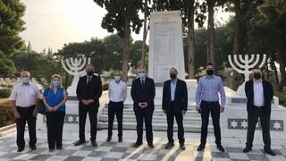 Βανδαλισμός Eβραϊκού Nεκροταφείου Αθηνών: Καταδίκη από ΔΣΟ και Πρεσβεία των ΗΠΑ