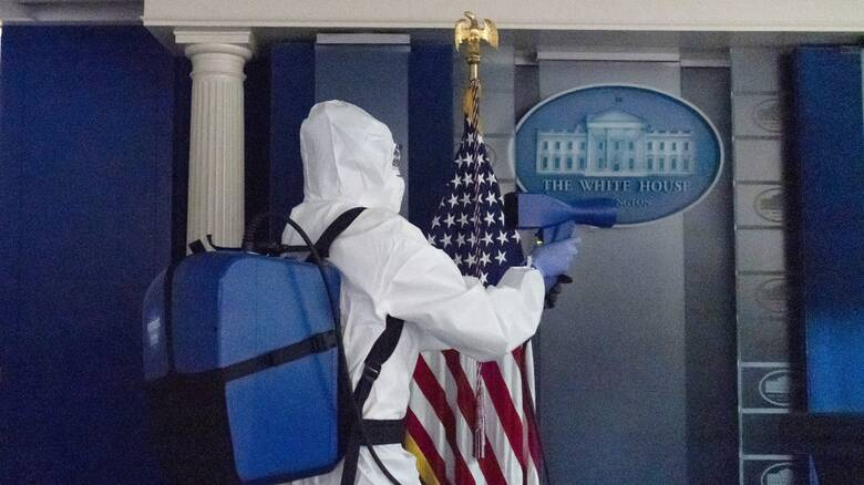 Κορωνοϊός - ΗΠΑ: Νέα κρούσματα σε Λευκό Οίκο και αξιωματούχους των Ενόπλων Δυνάμεων