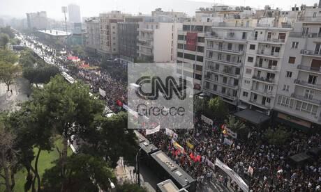 Δίκη Χρυσής Αυγής: Πλήθος κόσμου στους δρόμους